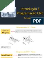 Aula 09 Introdução à Programação CNC - Torneamento