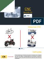 Aula de Revisão 02  - Processos e Máquinas CNC