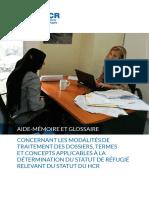 Glossaire UNHCR