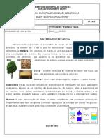6 ª Ano Materia e Substancias 05-04 a 10-04
