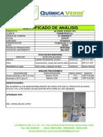 1- CDA ALCOHOL ETÍLICO 70% Lote 040419 29.05.20