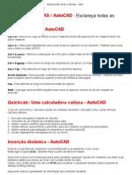 Autocad CAD_ Dicas e Técnicas - AutoCAD
