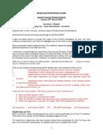 EEIS Secretary Report 2010