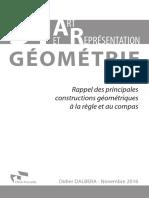 Rappel Constructions Géométriques