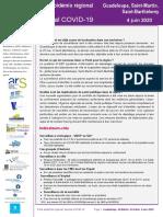 Guadeloupe-SaintMartin-SaintBarthelemy PER COVID19 20200604