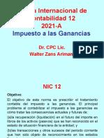 NIC 12 - Método ER