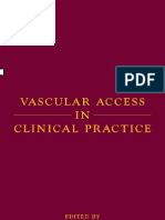 Vascular access in clinical practice