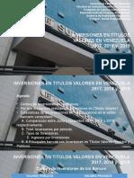 PPT DE INVERSIONES EN TITULOS VALORES 2017_2018_2019