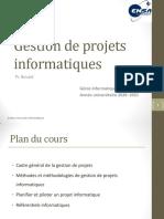 Cours Gestion Projet Cadre général - GI4 VE