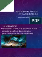 SEGURIDAD LABORAL EN LA SOLDADURA