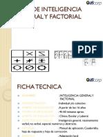 TEST DE INTELIGENCIA GENERAL Y FACTORIAL IGF