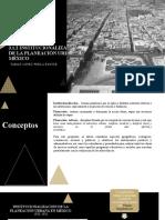3.1.2 Institucionalización de La Planeación Urbana