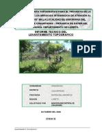 Informe_Topografico UNGURAHUI - Local Comunal