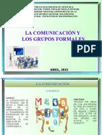 LA COMUNICACIÓN Y LOS GRUPOS FORMALES