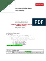 Padronização de Motor Elétrico Trifásico de Indução