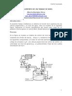 Modelamiento matemático de un Tanque de Nivel - Funcion transferencia