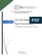 Stratégies Patrimoniales