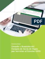 8-Instructivo Llenado y Remisión Del Formato de Envío de Pagos Por Servicios Al Exterior (609)