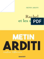 Metin Arditi - Rachel Et Les Siens (2020)