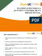 2 1 1 Planificacion Para La Ejecucion y Control de Un Proyecto Vial
