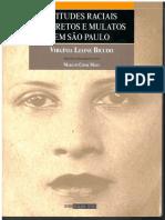 Atitudes raciais de pretos e mulatos em São Paulo by Virgínia Leone Bicudo Marcos Chor Maio (z-lib.org)