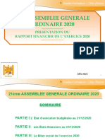 Presentation Du Rapport Financier Ifci 2020 .Ppt