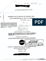 Gemini 4 Composite Air-To-Ground and Onboard Voice Tape Transcription