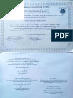 Diploma de Graduação Universo