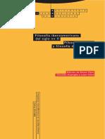 33-2 Filosofía Iberoamericana Del Siglo XX-II. Filosofía Práctica y Filosofía de La Cultura