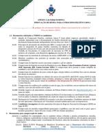 Anexo A - Documentação para inscrição