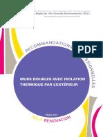 Recommandation Pro Rage Murs Doubles Avec Ite 2014 03
