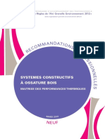 Recommandation Pro Rage Systemes Constructifs Ossature Bois 2013-03-0