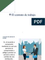 Diapositiva Angela Escolastico Contrato de Trabajo