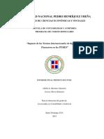 Impacto de las normas internacionales de información financiera en las PYMES