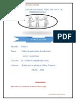 redacción de solicitud, acta y monologo -- KATHERINE MADELEINE NUÑEZ FUENTES