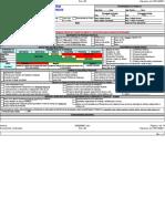 Modelo de APR - Analise Preliminar de Riscos