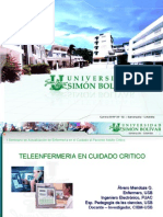 PRESENTACION TELEENFERMERIA CUIDADO CRITICO