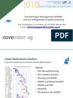 GDPM als Mittel zur erfolgreichen Projektumsetzung
