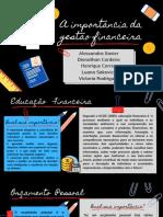 A importância da gestão financeirgf