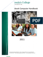 Student Laptop Handbook 2011
