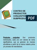 PRODUCTOS CONJUNTOS Y SUBPRODUCTOS (4)