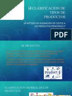 Productos Principales y Secundarios