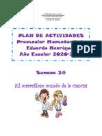 Plan de Tareas 34