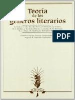 Teoria de Los Generos Literarios