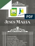 JESÚS MARÍA