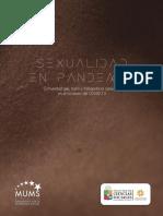 Sexualidad en Pandemia. Comunidad Gay, Trans y Trabajadorxs Sexuales en El Contexto COVID-19. MUMS NJK