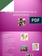 El Sindrome Normal de La Adolescencia