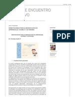 PUNTO DE ENCUENTRO EDUCATIVO_ ORIENTACIONES PARA ELABORAR GUÍAS DE APRENDIZAJE, FLEXIBLE Y AUTÓNOMO.