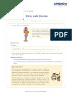 ACTIVIDAD 1-PERÚ PAÍS DIVERSO-PS-14-06-2021