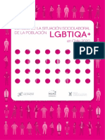 Estudio de La Situación Sociolaboral de La Población LGBTIQA+ en Chile 2020 Sindicato Luis Gauthier